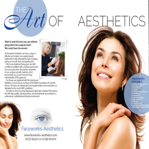 Faceworks Aesthetics feature