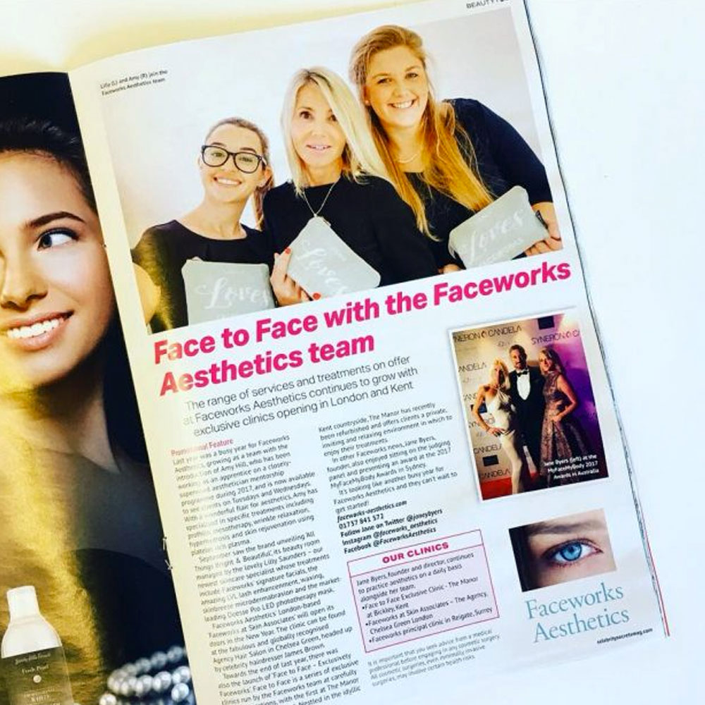 Faceworks in OK Magazine