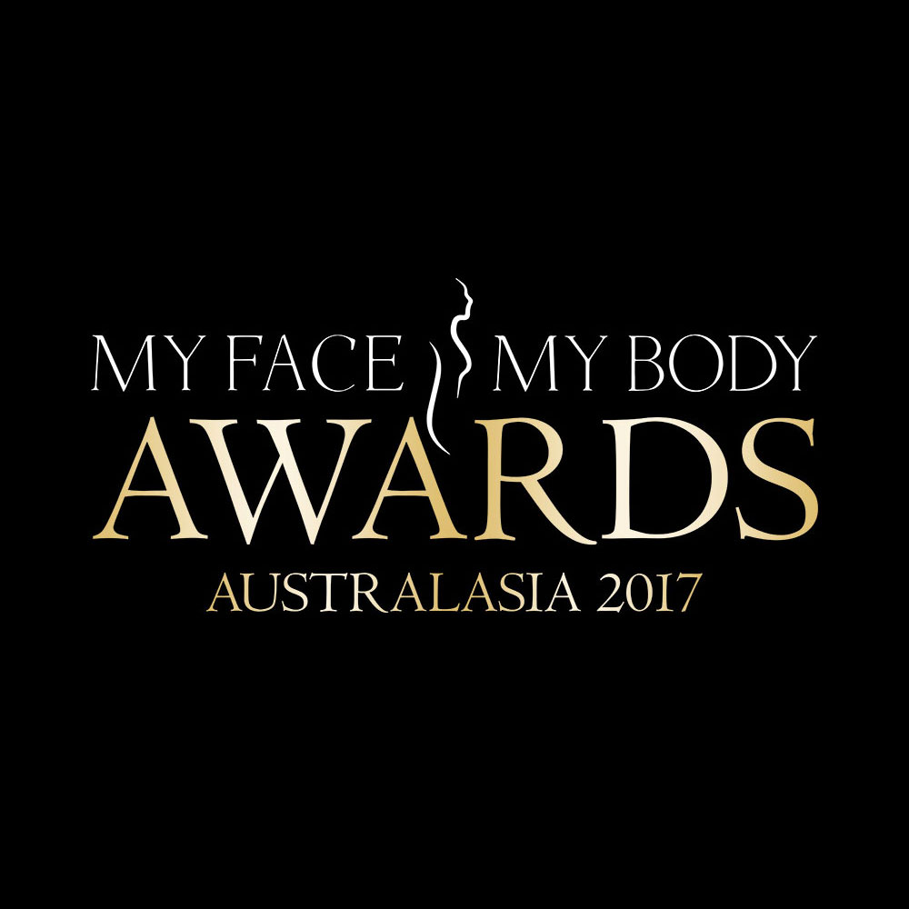 Jane Byers presents award at My Face My Body Aesthetics Awards